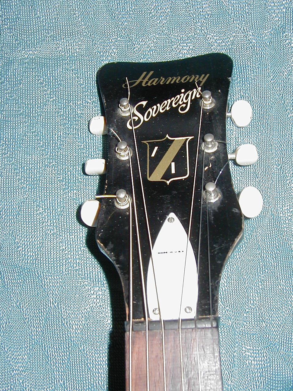 harmony guitar serial number database
